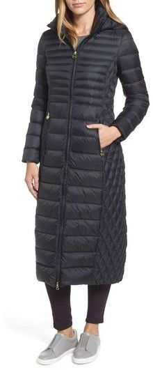 MICHAEL Michael Kors Women's Long Packable Puffer Coat