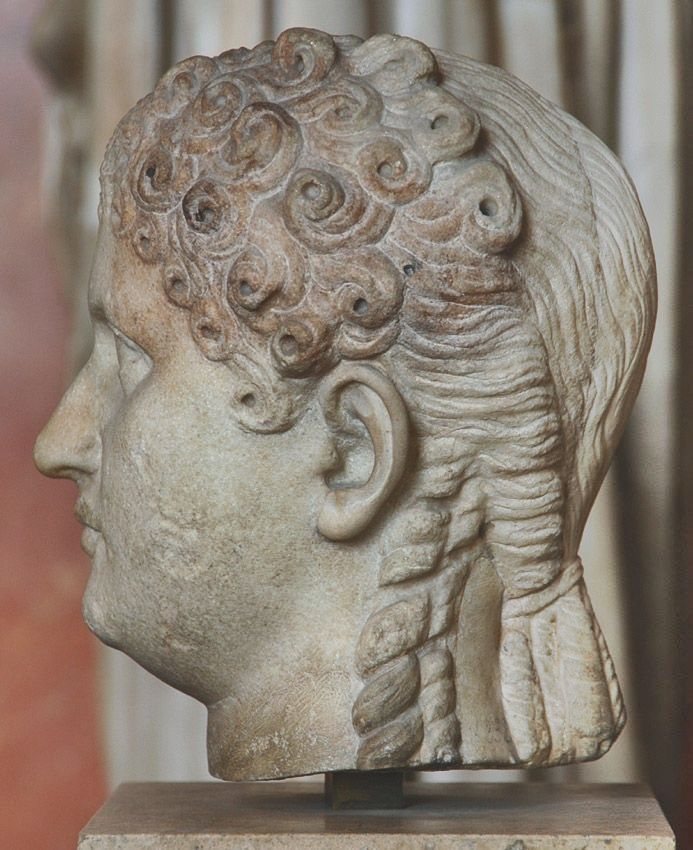 86 Best Ancient Greece Rome Style Images On Pinterest: 73 Best Ancient Hair Styles Images On Pinterest