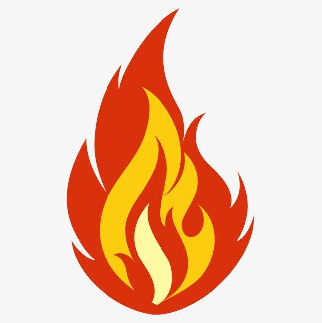 Картинка огонька для детей