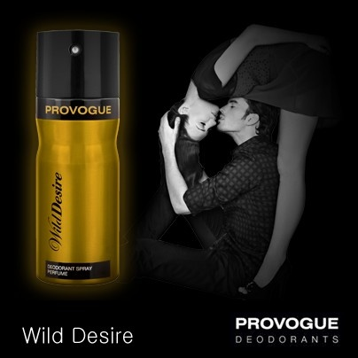 Be the centre of attention with Provogue's Wild Desire, a fragrance which imparts flamboyance to your masculine side!