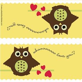 Busy Bees: Free Printable: Owl Treat Bag Topper