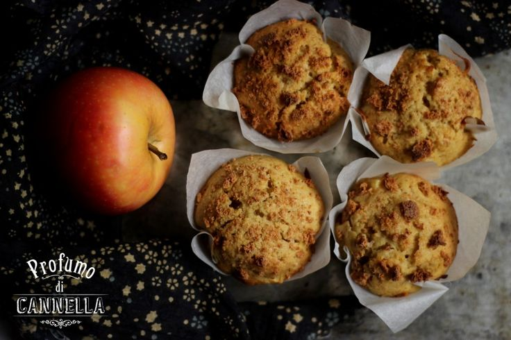 Muffin con mele e amaretti – il Campus Etoile Academy mi aspetta!