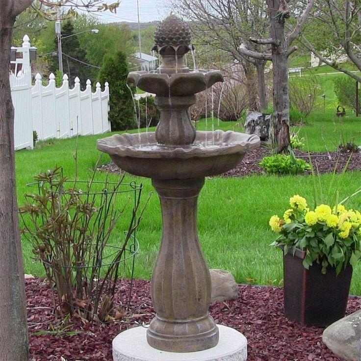 Solar Garden Fountains Walmart Home Depot Canada Outdoor Water
