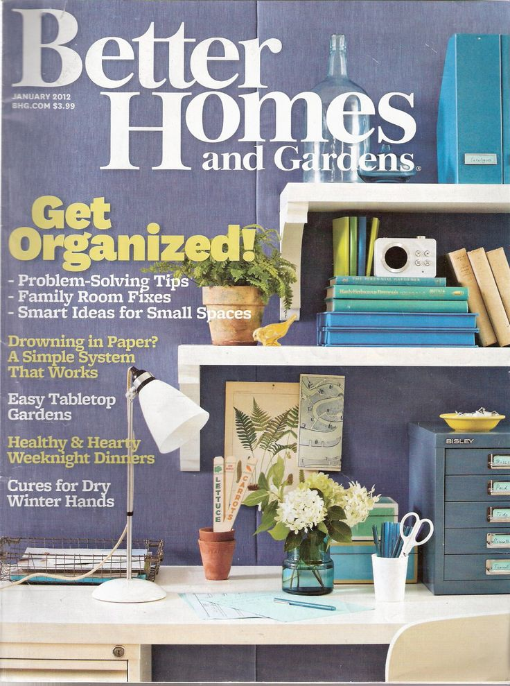 Better Homes And Gardens Magazine January 2012 Publisher Meredith Condition Very Good Comments