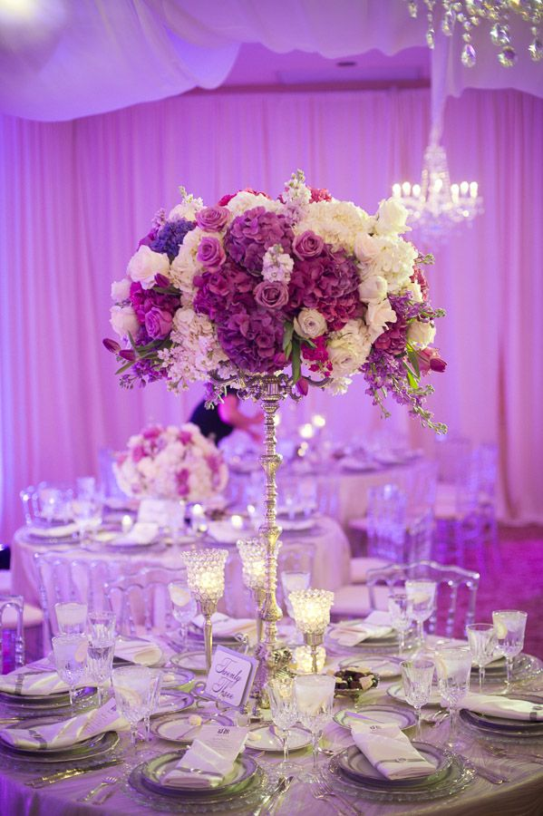 Regally elegant purple maryland wedding