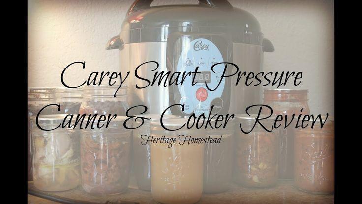 Carey Smart (electric) Pressure Canner and Cooker Review and Demonstration