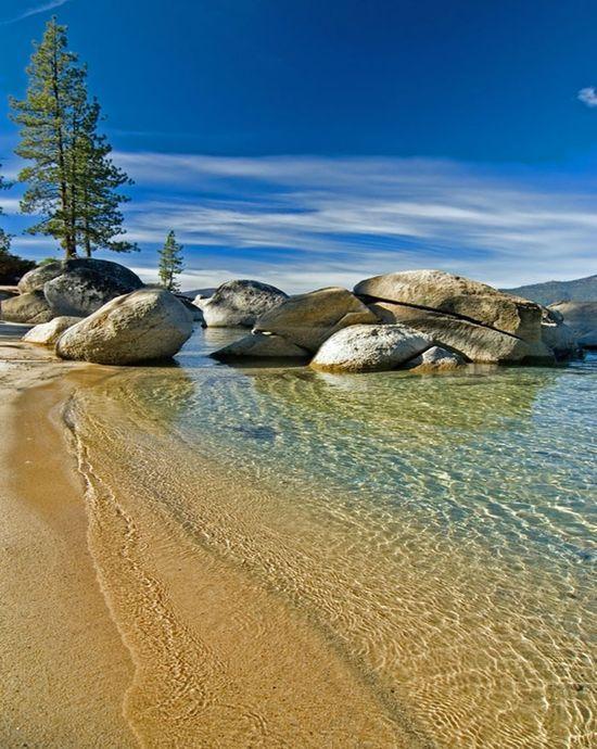 Kings Beach in Lake Tahoe. One of my favorite peaceful places.