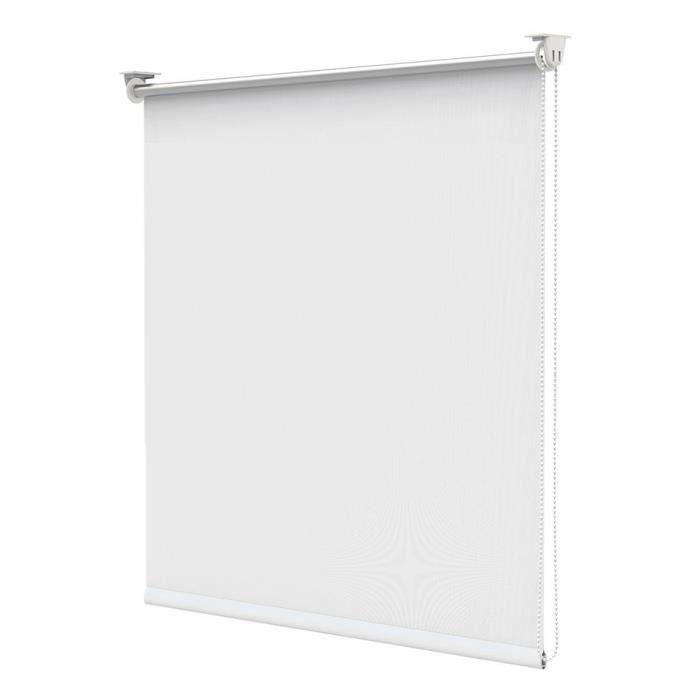 Bondeco Store Enrouleur Occultant Isolant Thermique Opaque Blanc 45x170 Store Enrouleur Store Fenetre Stores