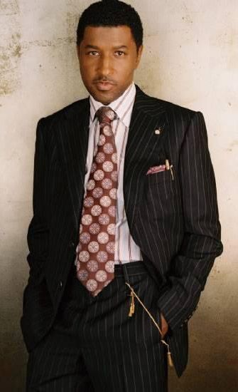 Babyface (born Kenneth Edmonds), 10x Grammy Award-winning R+B musician, singer-songwriter, record producer and co-founder of LaFace Records with L.A. Reid.