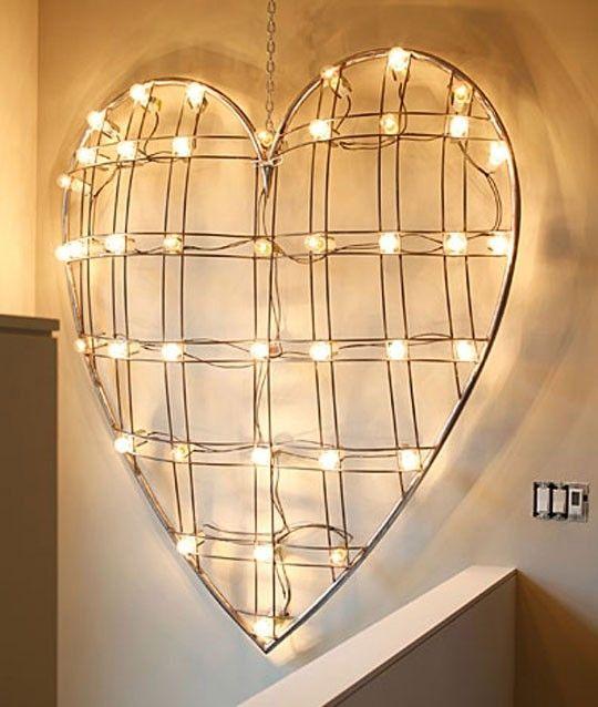 26 best Valentine\'s Day Lights images on Pinterest | Homes ...