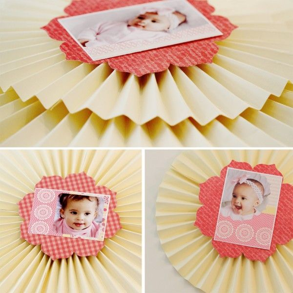 How to make a paper medallion... Such a cute idea for Mother's Day. lifenreflection.com