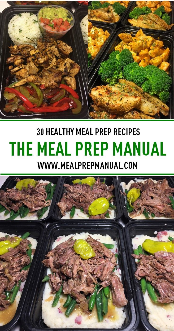 18 best meal prep recipes images on pinterest meal prep recipes meal prep ideas to help you eat healthier find 30 meal prep recipes in the meal prep manual ebook fandeluxe