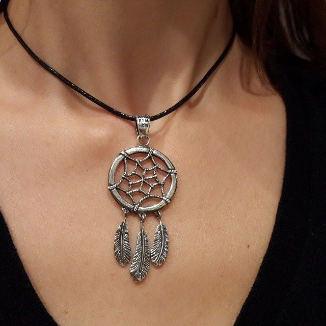 Adorable silver Dream catcher pendant.Amorem. Sterling silver. Made in Russia.