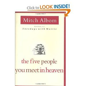 The Five People You Meet in Heaven- great book by Mitch Albom- I love all his books!: Books Priceless, Albom Books, Awesome Books, Books Sayinz, Best Books Ev, Book Clubs, Favorite Books, Good Books, Books Movies Theatre