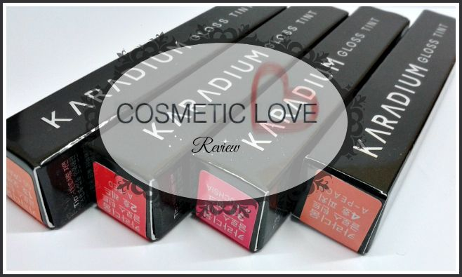 http://bit.ly/karadium  Cosmetic Love | Karadium Gloss Tint | Inspirily