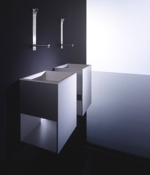 *minimal bathroom design, sink* series Box by Boffi