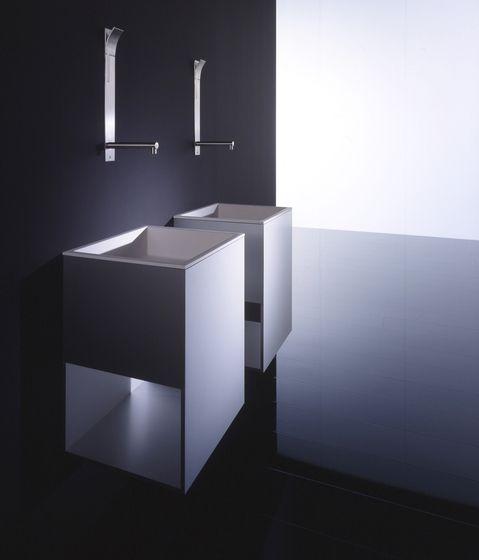 *minimal bathroom design, sink* series Box by Boffi
