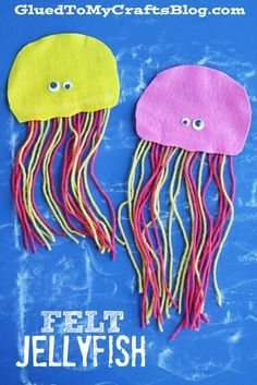 Felt Jellyfish - Kid Craft