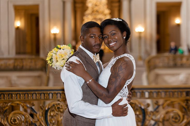 5 Tips for getting married at San Francisco City Hall, during the holidays.