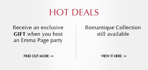 receive a  hot deal when hosting an Emma Page party