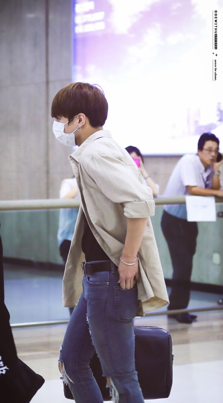 Jungkook © BBEWITHU | Do not edit #airport fashion | VKook