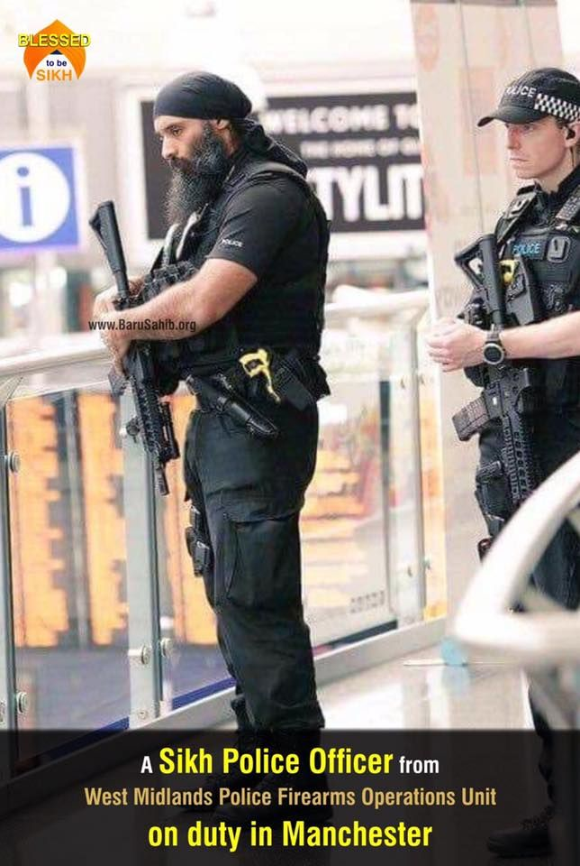 #BlessedTobeSikh A Sikh Police Officer from West Midlands ...