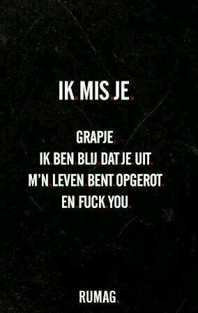 Ik mis je...