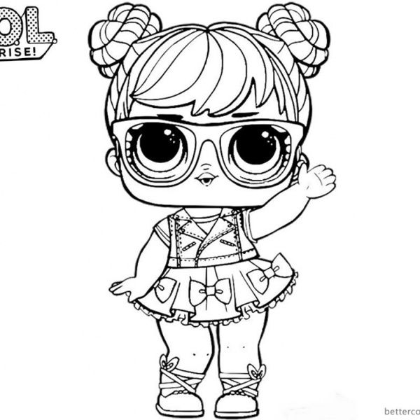 22+ Big lol dolls coloring pages ideas