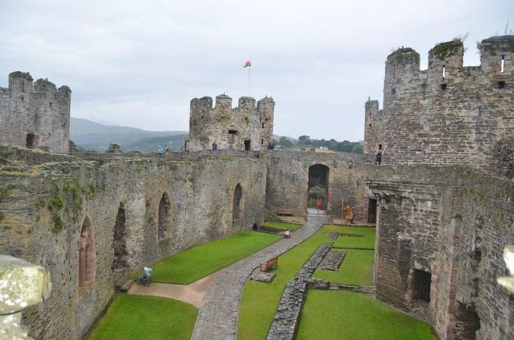 Conwy Castle - Conwy, Wales