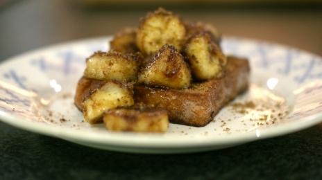 Eén - Dagelijkse kost - wentelteefjes met kaneel en gebakken banaan | Eén