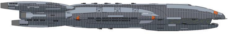 DeviantArt: More Artists Like Cylon Raider Mk I ortho [update] by unusualsuspex