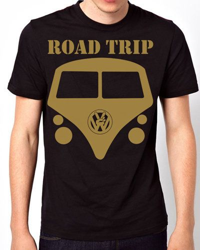 iOffer: Road Trip Peace Volkswagen Van Black T-Shirt for sale on Wanelo