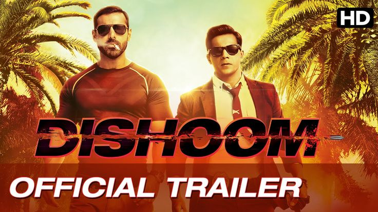 The trailers of Dishoom movie is out featuring Varun Dhawan, John Abraham and Jacqueline Fernandez in the lead role. The