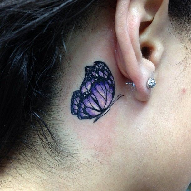 behind the ear tattoos - Google Search