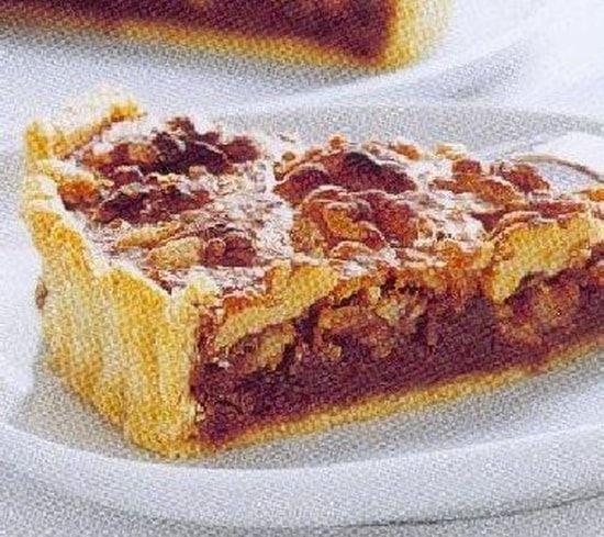 Recette de Tarte aux noix : la recette facile
