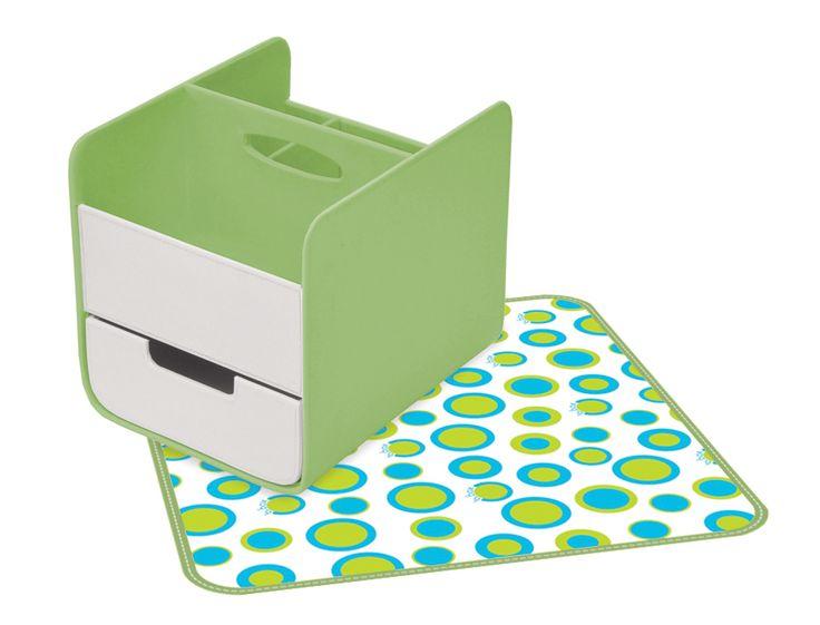 Retro Chic - Diaper/Nappy Caddy http://www.bbox.com.au/shop/essential-nappy-caddy/essential-nappy-caddy-retro-chic