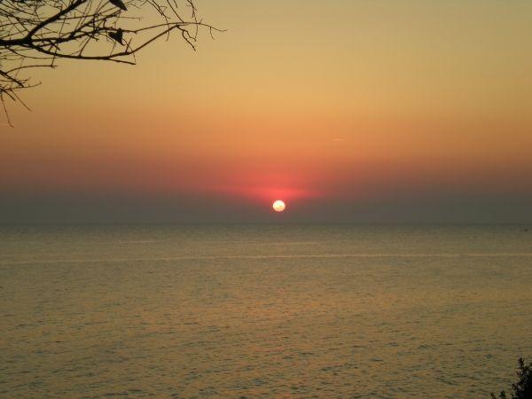 Sunset in Nikiti