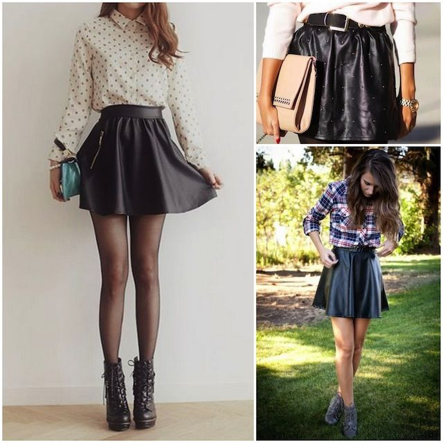 leather skirts iii