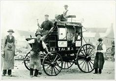 Cobb and Co coach....Royal Mail.A♥W