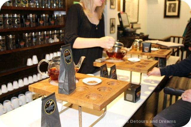 Twining Tea Tasting: Sampling teas at the oldest shop in the City of Westminster