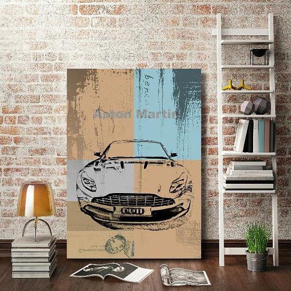 aston martin DB11  Car Art Print on Paper  Exotic Motor Car  #astonmartin  #cars  #carprints   #etsy  #db11   #cargraphics  #wallart  #mensdecor   #masculine  #carart