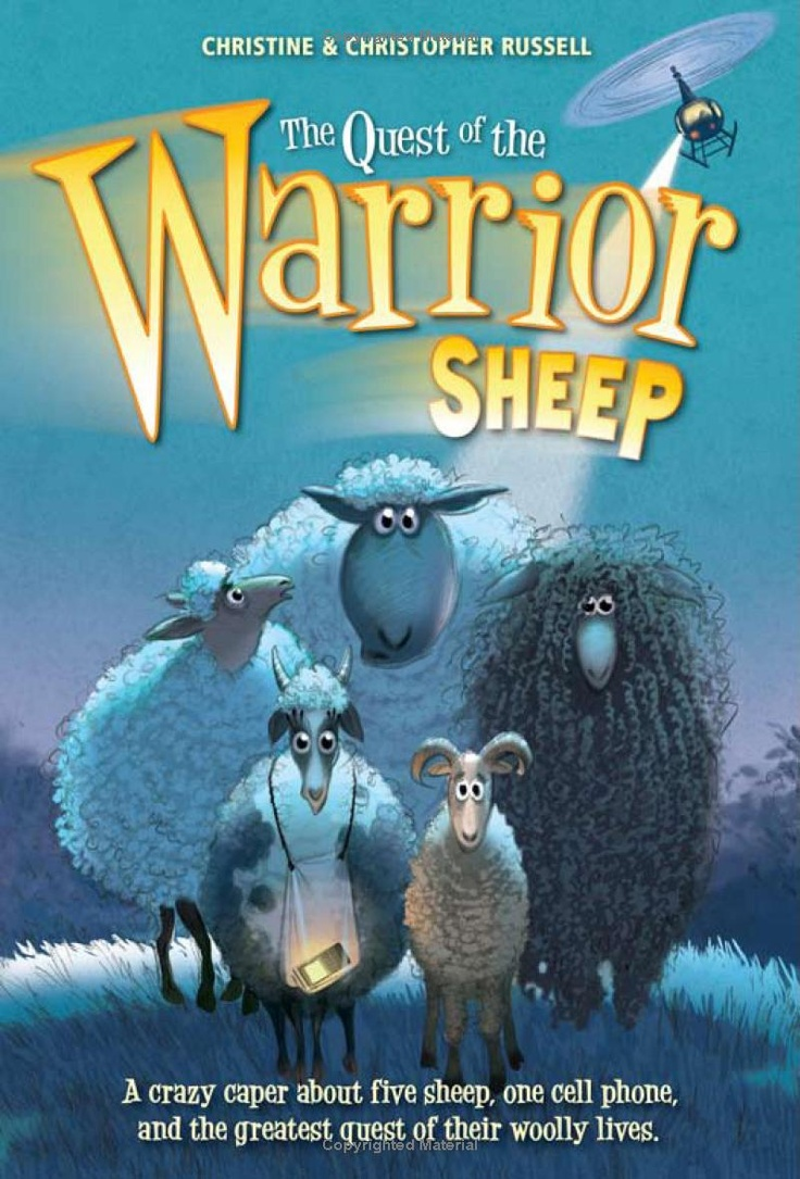 The Quest of the Warrior Sheep: Amazon.co.uk: Christopher Russell, Christine Russell: Books