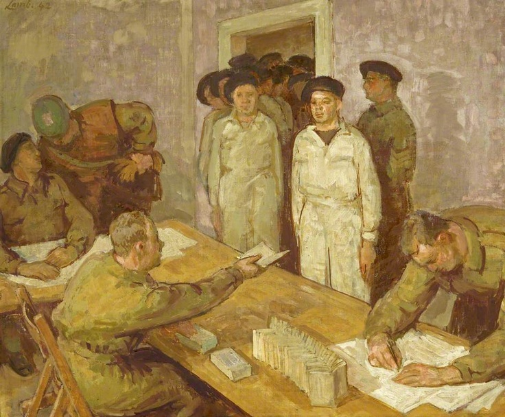 Henry Lamb, Pay at the Canadian Armoured Division