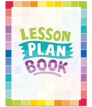 "This Painted Palette lesson plan book offers 2-page lesson plan spreads for 40 weeks of teaching. 8 ½"" x 11"", spiral bound.  Features these helpful resources:  Student contact information list Substitute teacher information Seating chart Student transportation chart Weekly schedule Birthdays chart ""Class News"" template ""Notes from the Teacher"" templates Long-term planning calendar 40 weeks of lesson plan pages Notes page"