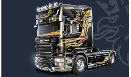 Italeri - 3883 - Maquette de voitures / cars model kits - Scania R730 V8 Imperial -1/24