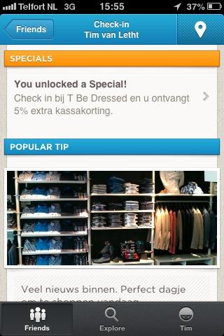 Foursquare special