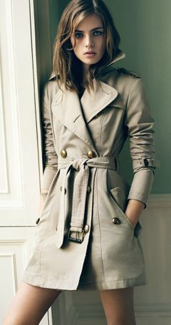 Burberry Blue Label - awesome trench coat!