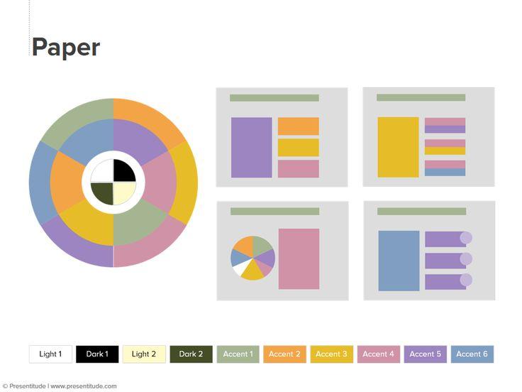 PowerPoint 2010: Color theme #31: Paper