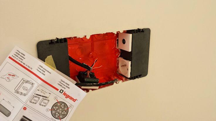 L RENOV TOUS: Legrand Batibox multimédia : une TV au mur sans câbles visibles