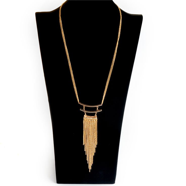Fine Jewelry Tassel Necklace Summer Style Exaggerated Rhinestone Long Necklace Section Body Chain Jewelry suspension collares
